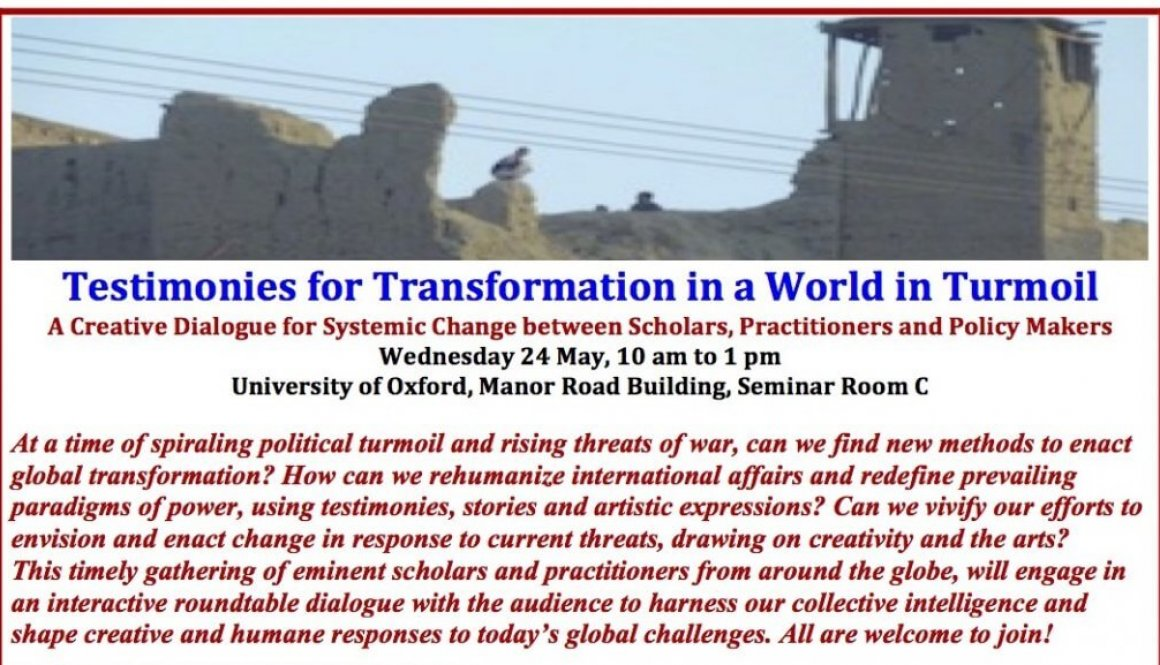 JPG Invitation Poster Enacting Global Transformation Conference University of Oxford 24 May 2017